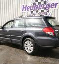 subaru outback 2008 diamond grey wagon 2 5i l l  bean edition gasoline 4 cylinders all whee drive automatic 80905
