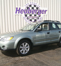 subaru outback 2009 seacrest green wagon 2 5i special edition gasoline 4 cylinders all whee drive automatic 80905