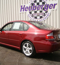 subaru legacy 2009 ruby red sedan 2 5i special edition gasoline 4 cylinders all whee drive 5 speed manual 80905