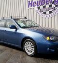 subaru impreza 2010 newport blue wagon 2 5i premium gasoline 4 cylinders all whee drive 5 speed manual 80905