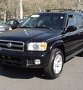 nissan pathfinder 2003 black suv le gasoline 6 cylinders 4 wheel drive automatic 06019
