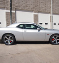 dodge challenger 2012 silver coupe srt8 392 gasoline 8 cylinders rear wheel drive 6 speed manual 80301