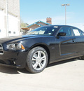 dodge charger 2012 black sedan r t plus gasoline 8 cylinders all whee drive automatic 80301
