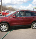 honda cr v 2009 maroon suv ex l gasoline 4 cylinders all whee drive automatic 13502