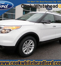 ford explorer 2013 white suv xlt flex fuel 6 cylinders 2 wheel drive automatic 32401