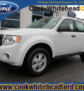 ford escape 2012 white suv xls gasoline 4 cylinders front wheel drive automatic 32401