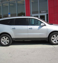 chevrolet traverse 2009 silver suv lt gasoline 6 cylinders front wheel drive automatic 33884
