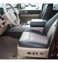 ford expedition el 2007 dk  brown suv eddie bauer gasoline 8 cylinders rear wheel drive 6 speed automatic 77388