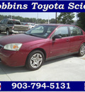 chevrolet malibu 2006 dk  red sedan ls fleet gasoline 6 cylinders front wheel drive automatic 75503