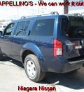 nissan pathfinder 2009 blue suv s gasoline 6 cylinders 4 wheel drive automatic 14094
