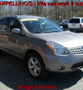 nissan rogue 2010 gray suv sl gasoline 4 cylinders automatic 14094