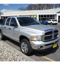 dodge ram pickup 1500 2004 bright silver slt gasoline 8 cylinders 4 wheel drive automatic with overdrive 07724
