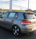volkswagen gti 2012 gray hatchback pzev gasoline 4 cylinders front wheel drive 6 speed manual 46410