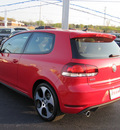 volkswagen gti 2012 red hatchback pzev gasoline 4 cylinders front wheel drive 6 speed automatic 46410