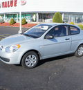 hyundai accent 2009 silver hatchback gasoline 4 cylinders front wheel drive automatic 19153