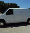ford econoline e150 2002 white van gasoline 6 cylinders rear wheel drive automatic 32901