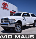 dodge ram 2500 2010 white laramie diesel 6 cylinders 4 wheel drive automatic 32771