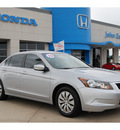 honda accord 2010 silver sedan lx gasoline 4 cylinders front wheel drive automatic 77065