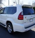 lexus gx 470 2008 white suv navigation mark levinson audio gasoline 8 cylinders 4 wheel drive automatic 07755