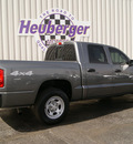 dodge dakota 2006 mineral gray st gasoline 6 cylinders 4 wheel drive automatic 80905