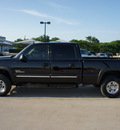 chevrolet silverado 2500hd 2006 black lt diesel 8 cylinders 4 wheel drive automatic 76087