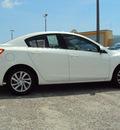 mazda mazda3 2012 white sedan touring gasoline 4 cylinders front wheel drive automatic 32901
