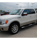 ford f 150 2009 white king ranch flex fuel 8 cylinders 2 wheel drive automatic with overdrive 77065