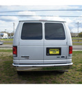 ford e series wagon 2011 silver van e 350 sd xlt flex fuel 8 cylinders rear wheel drive automatic with overdrive 07724