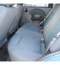 chevrolet aveo 2006 blue sedan ls gasoline 4 cylinders front wheel drive automatic 77037