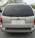 ford windstar 2002 tan van lx gasoline 6 cylinders front wheel drive automatic 60443