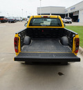 chevrolet colorado 2007 yellow pickup truck work truck gasoline 4 cylinders rear wheel drive automatic 76108