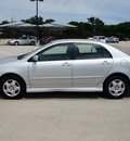 toyota corolla 2007 silver sedan s gasoline 4 cylinders front wheel drive automatic with overdrive 76087
