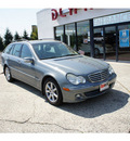 mercedes benz c class 2005 grey wagon c240 4matic gasoline 6 cylinders all whee drive automatic 07724