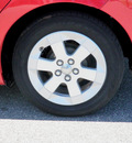 toyota prius 2008 red hatchback standard hybrid 4 cylinders front wheel drive automatic 56001