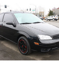 ford focus 2005 black hatchback zx3 gasoline 4 cylinders front wheel drive 5 speed manual 98632