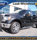ford f 150 2012 black xlt gasoline 6 cylinders 4 wheel drive automatic with overdrive 32401