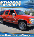 chevrolet suburban 1999 red suv ls 2wd diesel 8 cylinders rear wheel drive automatic with overdrive 07507
