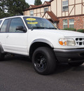 ford explorer 1998 bright white suv sport 2 dr 4x4 auto gasoline v6 4 wheel drive automatic 80012