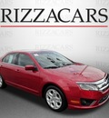 ford fusion 2010 dk  red sedan se gasoline 4 cylinders front wheel drive automatic with overdrive 60546
