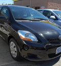 toyota yaris 2009 black sedan gasoline 4 cylinders front wheel drive automatic 94010
