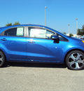 kia rio 2012 blue hatchback sx gasoline 4 cylinders front wheel drive automatic 32901