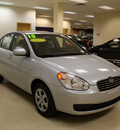 hyundai accent 2010 silver sedan gls gasoline 4 cylinders front wheel drive automatic 27707