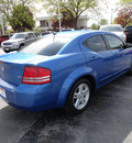 dodge avenger 2008 blue sedan sxt gasoline 4 cylinders front wheel drive automatic 60443