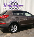 kia sportage 2012 brown suv lx gasoline 4 cylinders all whee drive automatic 80905