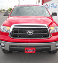 toyota tundra 2011 red sr5 gasoline 8 cylinders 2 wheel drive automatic 79925
