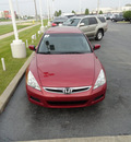 honda accord 2007 dk  red sedan se gasoline 6 cylinders front wheel drive automatic with overdrive 60462