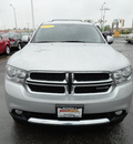 dodge durango 2011 silver suv crew gasoline 6 cylinders all whee drive automatic 60443