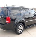 honda pilot 2010 black suv touring w navi gasoline 6 cylinders front wheel drive automatic with overdrive 77065