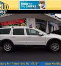 volvo xc70 2007 white wagon gasoline 5 cylinders all whee drive automatic 07701