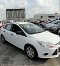 ford focus 2012 white sedan s flex fuel 4 cylinders front wheel drive automatic with overdrive 60546